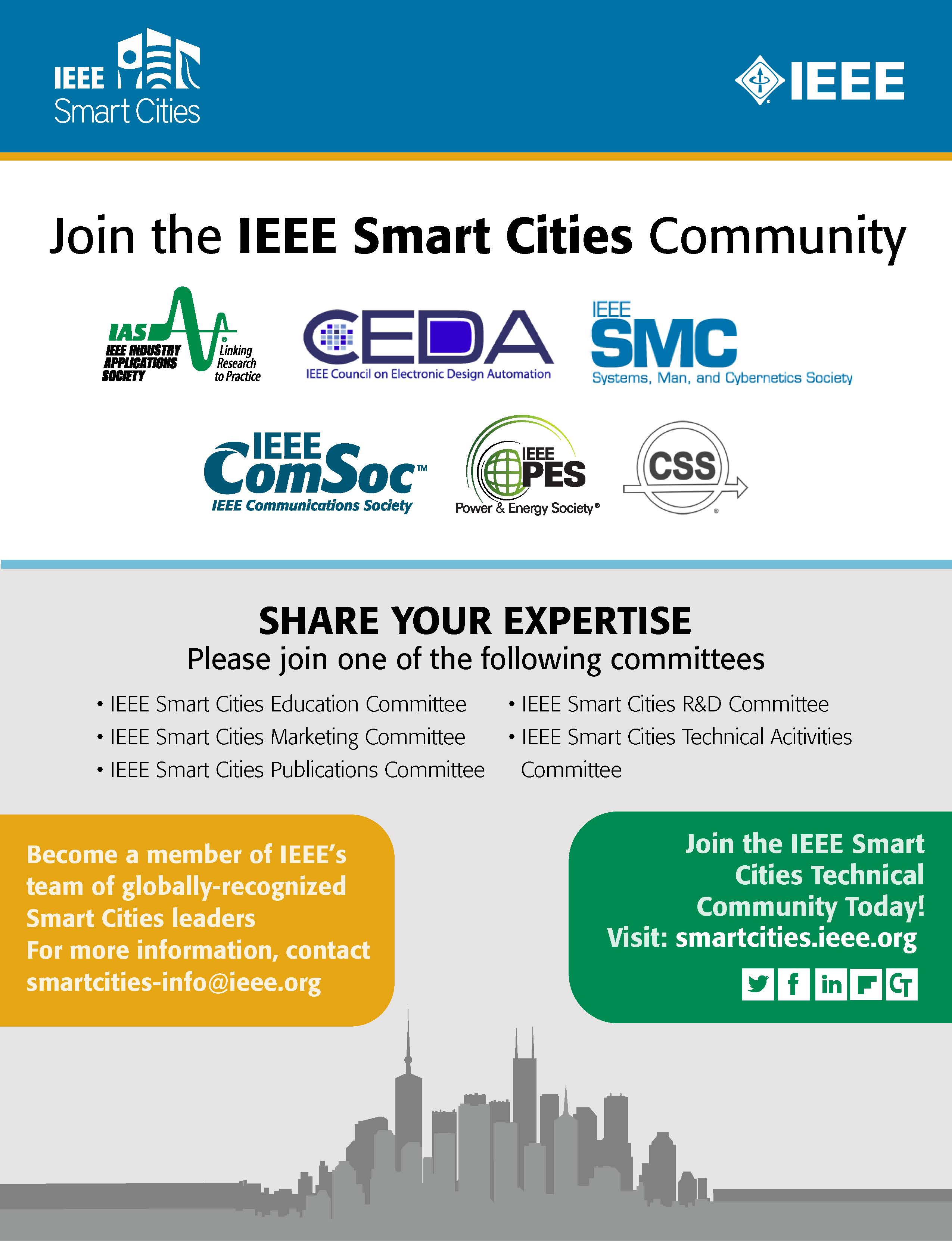 SmartCities JoinCommunity Flyer
