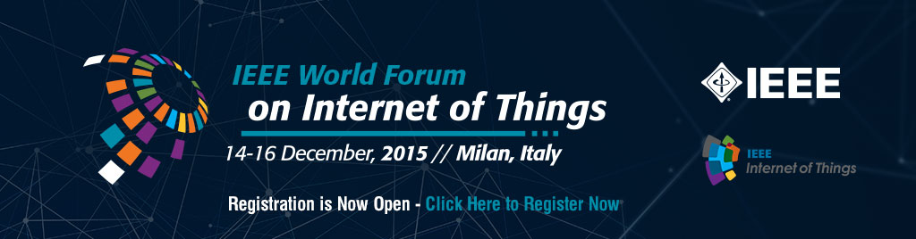 2015 IEEE 2nd World Forum on Internet of Things (WF-IoT) - 14-16 December 2015 in Milan, Italy