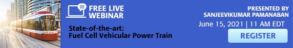 Fuel Cell Vehicular Power Train Live webinar