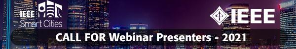 July 2021 - Call for Webinar Presenters